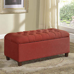 Altamura Tufted Storage Bench