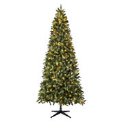North Pole Trading Co. 7.5' Cascade Pre-Lit Tree