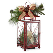 North Pole Trading Co. Red Lantern