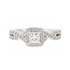 LIMITED QUANTITIES! 1 CT. T.W. Diamond 14K White Gold Ring