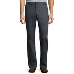 Claiborne® Performance Flat-Front Pants