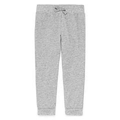 Okie Dokie® Knit Jogger Pants - Toddler Girls 2t-5t