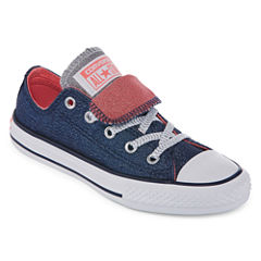 Converse Chuck Taylor All Star Double  Tongue Shine And Shimmer Girls Sneakers