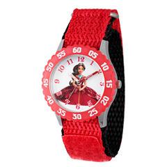 Disney Elena of Avalor Girls Red Strap Watch-Wds000280