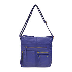 Bueno Multi-Zip Crossbody Bag