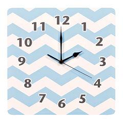 Trend Lab® Blue Sky Chevron Wall Clock