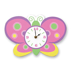 Trend Lab® Butterfly Wall Clock