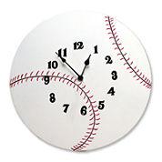 Trend Lab® Baseball Wall Clock