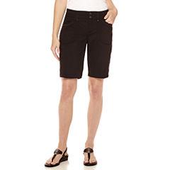 Gloria Vanderbilt® Beverly Relaxed-Fit Bermuda Cargo Shorts - Petite