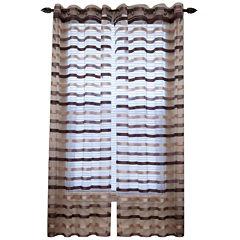 Sonya Grommet-Top Curtain Panel