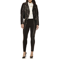 BisouBisou® Jacket, Ruffled Tie-Neck Top or Ponte Pants