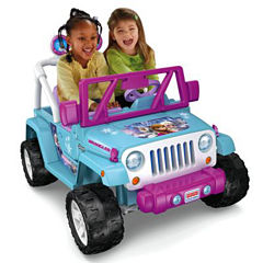 Power-Wheels Disney Frozen Jeep Wrangler
