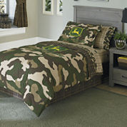 John Deere® Camo Reversible Comforter & Accessories
