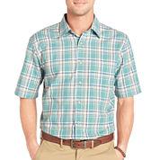Arrow® Short-Sleeve Corded Plaid Shirt