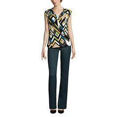 Worthington® Surplice Top or Curvy-Fit Pants