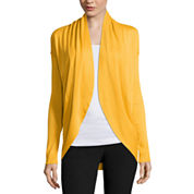 Worthington® Long-Sleeve Drop-Shoulder Cardigan