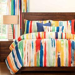 Sketchy Stripe Duvet Set