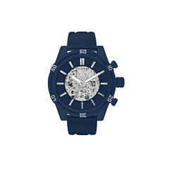 Rocawear Mens Blue Strap Watch-Rm3019ny1-104