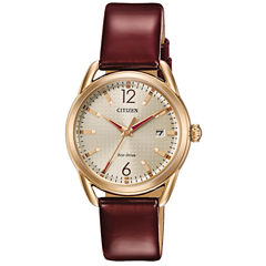 Drive from Citizen Red Strap Watch-Fe6083-05p