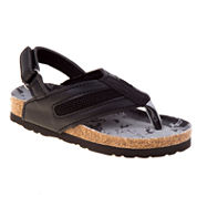 Rugged Bear Back-Strap Boys Flip-Flop Sandals - Toddler
