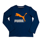 Puma® Long-Sleeve Graphic Tee - Boys 8-20