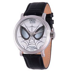 Ultimate Spider-Man Marvel Mens Black Strap Watch-Wma000053