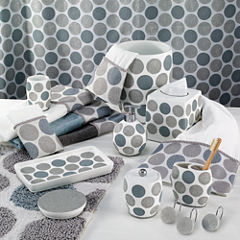 Avanti Dotted Circle Bath Collection