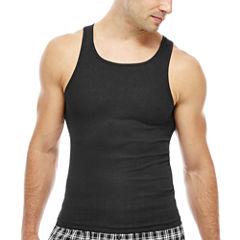 Hanes Men's ComfortBlend® FreshIQ™ Tank Undershirt 4-Pack