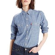 Levi's® Workwear Long-Sleeve Boyfriend Shirt