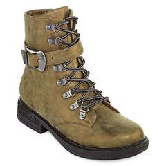 2 Lips Too Rachel Womens Combat Boots