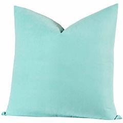 Crayola Robin'S Egg Blue Throw Pillow