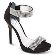 I. Miller Fancy Ankle-Strap High Heel Sandals