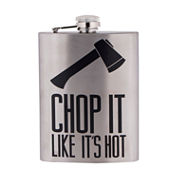 Reward Lodge Chop It Like It's Hot 8oz Flask