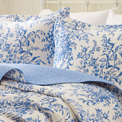 Laura Ashley Bedford Quilt Set