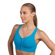 Jockey® Zip-Front High-Impact Seamless Sports Bra or City Lights Judo Leggings