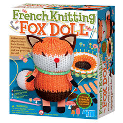 4m Knitting Fox Interactive Toy - Unisex