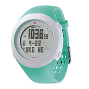 Soleus GPS Fly Teal Silicone Strap Running Digital Sport Watch