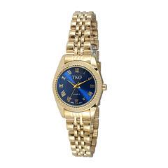 TKO ORLOGI Womens Blue Dial Petite Bracelet Watch