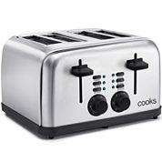 Cooks 4-Slice Stainless Steel Toaster