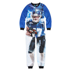 Jelli Fish Kids Fleece Zip-Front Pajamas - Boys 4-16