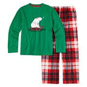 North Pole Trading Co. 2-pc. Polar Bear Sleep Set - Toddler Boys 2t-4t