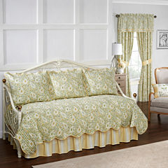 Waverly Paisley Verveine 5-pc. Floral Daybed Cover Set