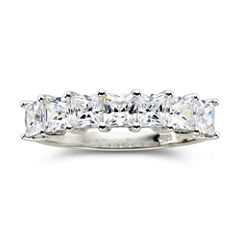 tw cubic zirconia 7 stone ring - Jcpenney Jewelry Wedding Rings