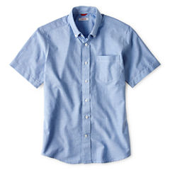 IZOD® Short-Sleeve Oxford Shirt - Boys 8-20