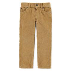 Arizona 5-Pocket Corduroy Pants - Toddler Boys 2t-5t