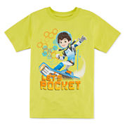 Disney Collection Short-Sleeve Miles Rock Graphic Tee - Boys