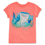 Disney Collection Short-Sleeve Dory Pals Graphic Tee - Girls