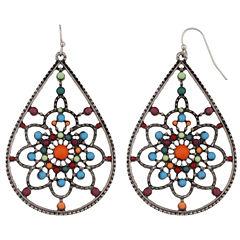 Mixit Multi Color Drop Earrings