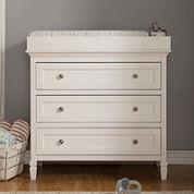DaVinci Perse 3-Drawer Changer Dresser - White