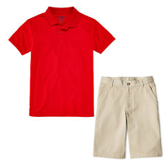IZOD® Performance Polo or Flat-Front Shorts - Preschool Boys 4-7